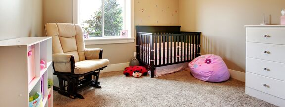 A nursery with all must-have nursery items
